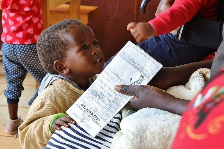 Child at Ebenezer Clinic