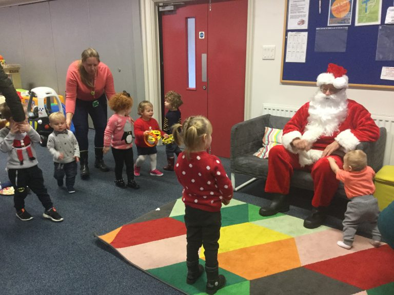 Kids Out: Santa Sightings in Pill