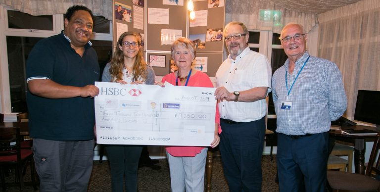 President's Supper and Cheque Presentations