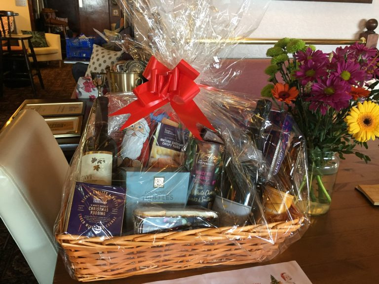Two Christmas Hampers: Prize Draw
