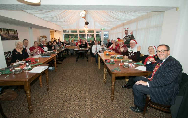 Christmas Breakfast and Charity Cheque Presentation